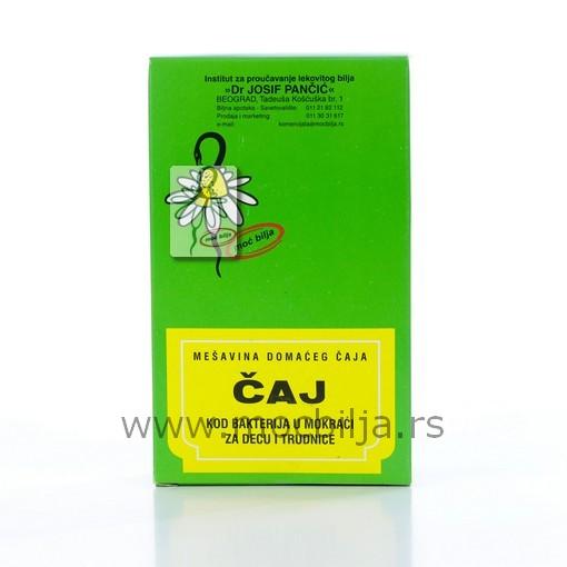 Čaj Kod Bakterija U Mokraći Za Decu I Trudnice 100g