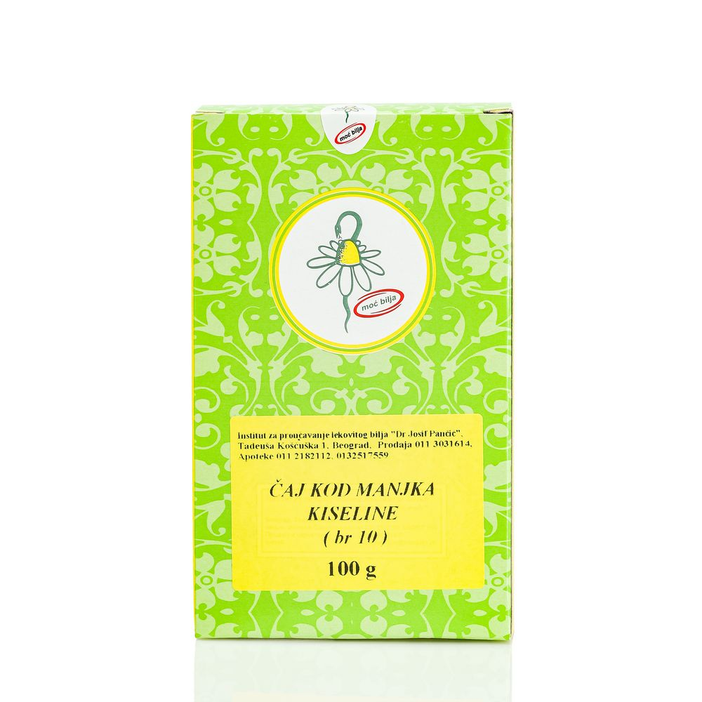 Čaj Kod Manjka želudačne Kiseline (Čaj Broj 10)