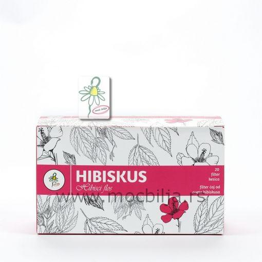 Filter čaj Od Cveta Hibiskusa