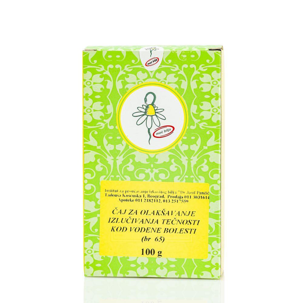 Čaj Za Olakšavanje Izlučivanja Tečnosti (Čaj Broj 65)
