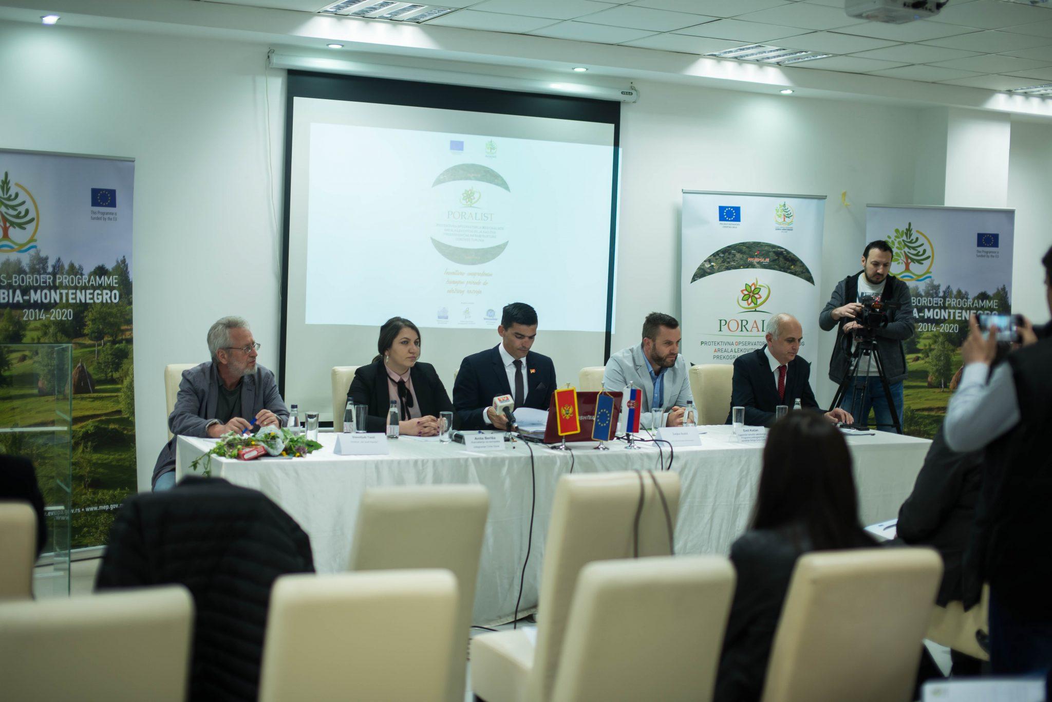 Održana Početna Konferencija Projekta Protektivna Opservatorija Regionalnog Areala Lekovitog Bilja Kao žive Prekogranične Infrastrukture Održivog Turizma-PORALIST